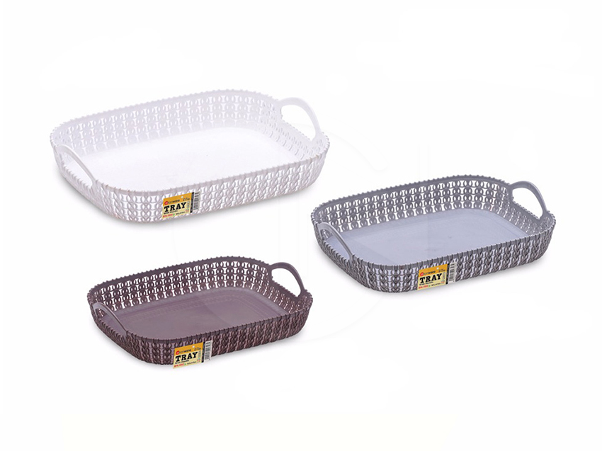 E1198,E1199,E1200<br>Tray With Handle<br>手提托盘