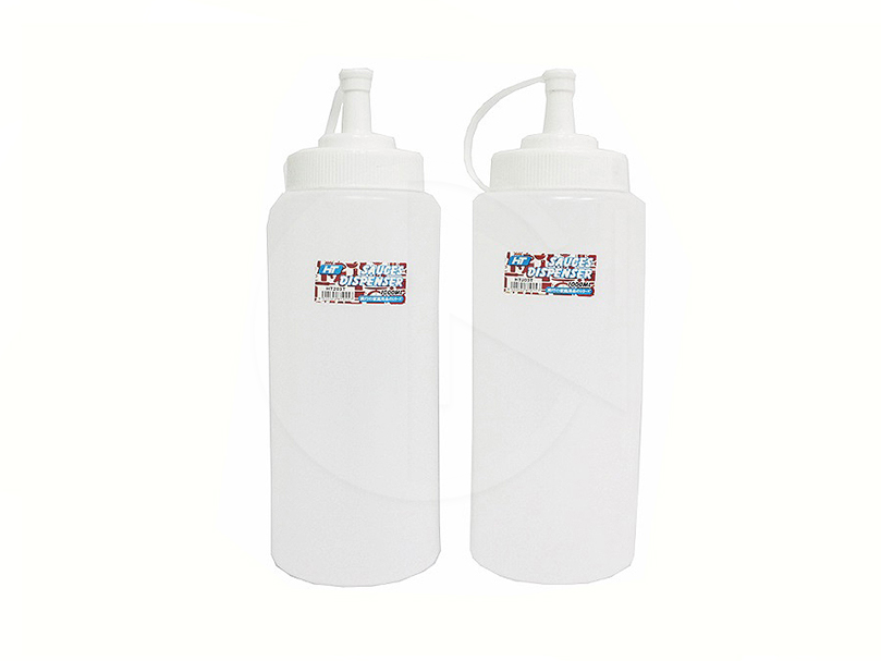 HT-203T<br>1000ML Sauces Dispenser(TRANSPARENT)<br>辣椒罐 (透明)