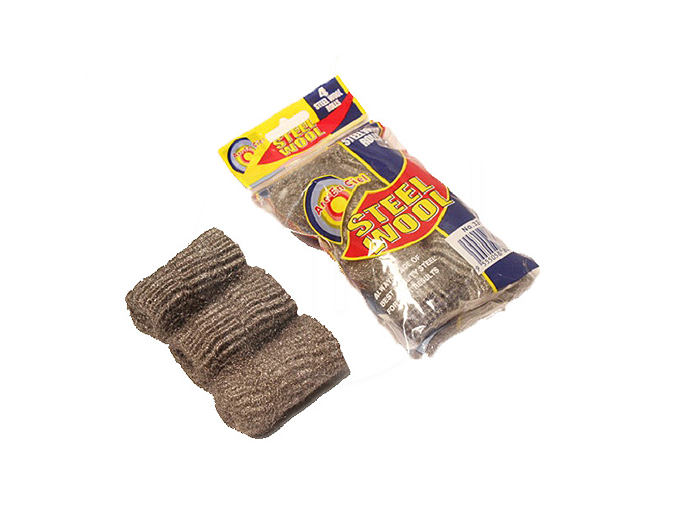 324A IM<br>4PCS Rolls Steel Wool<br>四头铁丝